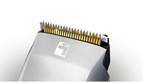 Superieure knipresultaten met mesjes met titaniumlaag