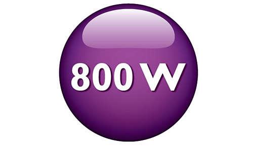 Potente motor de 800W