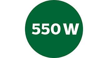 Motor potente de 550 W