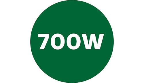 Krachtige 700 W-motor