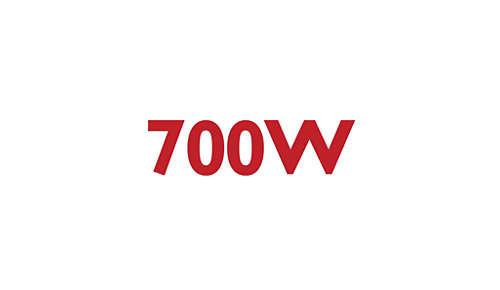 Kraftfuld motor på 700W