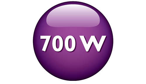 Potente motor de 700W