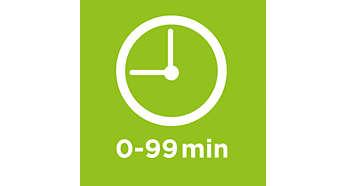 Minuteur jusqu'à 99minutes, avec signal de fin