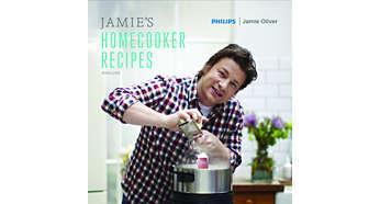 Livre de recettes Jamie Oliver plein de variété et d'inspiration