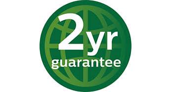2 anos de garantia mundial