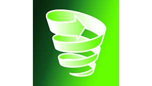 Flux de aer ciclonic fără sac în 2 etape pentru filtrare optimă