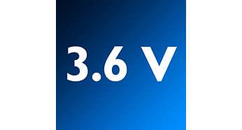 بطاريات NiMH فعالة بقوة 3.6 فولت