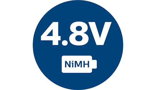 Baterie o dużej mocy — 4,8V NiMH