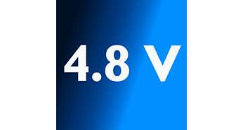 Krachtige 4,8 V NiMH-batterijen