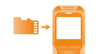 La fente pour carte mémoire micro SD garantit une capacité d'enregistrement presque illimitée.