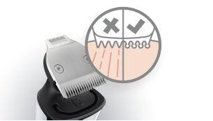Skin-friendly, high-performance trimmer blades