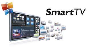 Smart TV Plus: services en ligne et contenu multimédia sur votre téléviseur