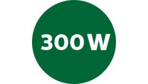 300 W juicer with 2 speeds