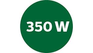 Centrifuga da 350 W con 2 opzioni di velocità per frutta morbida e dura