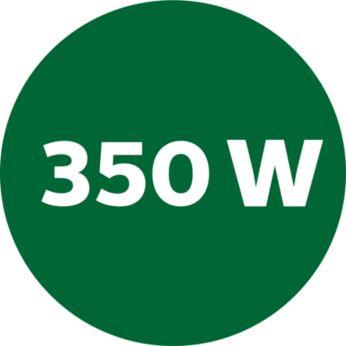 350 瓦榨汁機設有 2 種速度,軟硬水果同樣合適