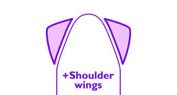 Wyposażony w system ShoulderWings