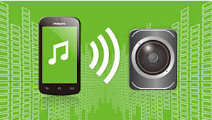 Streaming musik nirkabel via Bluetooth