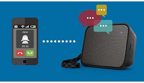 Ingebouwde microfoon voor handsfree telefoneren