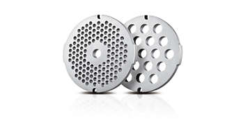 2 хигиенични диска за смилане от неръждаема стомана (5 и 8 мм)