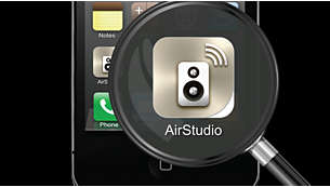 AirStudio+ Lite to control music from your mobile device