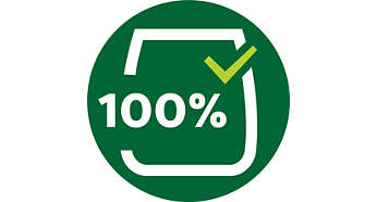 100% food-grade lubricant on motor shaft seal & bearings