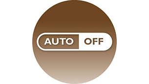 60 perces automatikus energiatakarékossági kikapcsolás