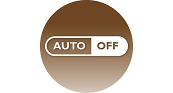 Automatisk avslåing etter 60minutter for å spare energi