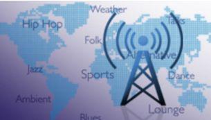 Internetiraadio võimaldab nautida veebipõhiste raadiojaamade maailma.