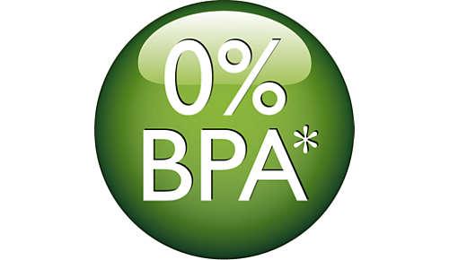 Aceste biberoane nu conţin BPA*