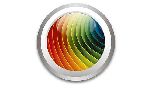 vælg mellem 16.000.000 farver