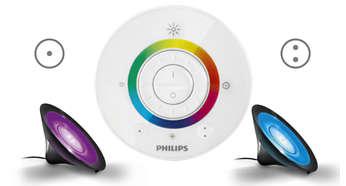Favori renklerinizi kaydetmek için 2 düğme