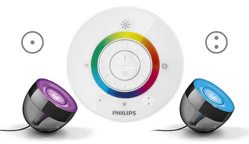 2 knapper til at gemme yndlingsfarver
