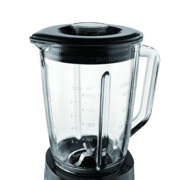 Кувшин из высококачественного стекла макс. емкостью 2л (1,5 л с продуктами)
