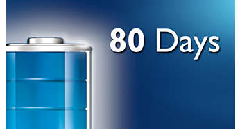 До 80 дней в режиме ожидания