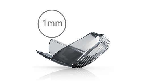 Speciale kam van 1 mm voor een snelle verzorgde stijl
