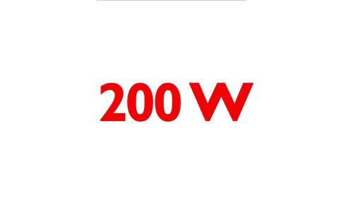 Moteur puissant de 200W