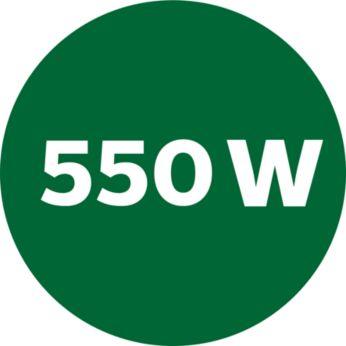 Motor puternic de 550 W