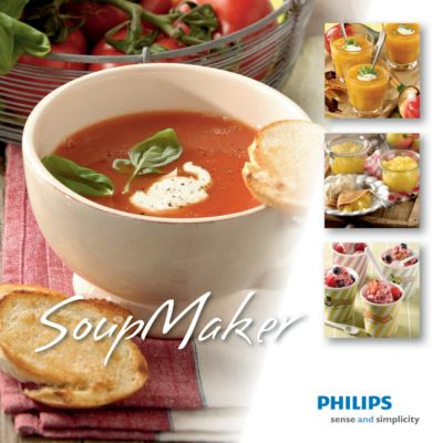 Philips Soup Maker Recipe Book