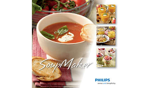 Un livre de recettes est inclus pour vous inspirer dans toutes vos préparations.