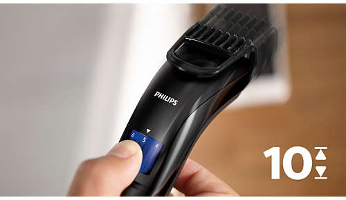 Easy to select and lock-in length settings, 1-10mm