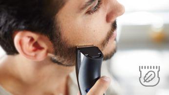 Odą puoselėjantis kirptuvas apvaliais galais – švelnus kontaktas su oda