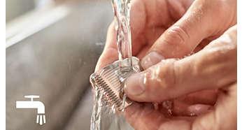 Löstagbart trimhuvud som är lätt att rengöra