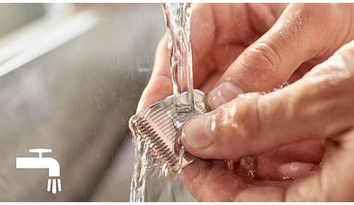 Cabezal desmontable para una limpieza fácil