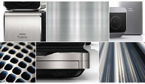 Geraffineerd ontwerp met fraaie aluminiumafwerking
