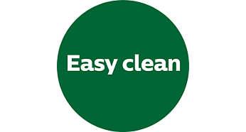 """Nút """"Easy Clean"""" (Làm sạch dễ dàng) riêng giúp nâng cao sự thuận tiện"""