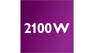 Motor od 2100 W stvara maks. 475 W usisne snage