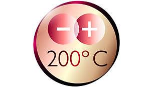 Bukle Maşası. Mükemmel sonuçlar için 200°C profesyonel sıcaklık