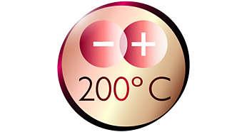 Щипцы для завивки: профессиональная температура укладки 200 °C для идеальных результатов, как в салоне красоты