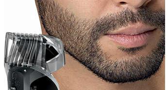 Peine de barba y bigote con 18 posiciones de largo
