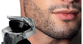 Peine para detalles y barba con 12 ajustes de largo